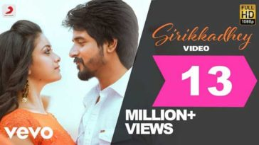 Sirikkadhey Song Lyrics From Remo
